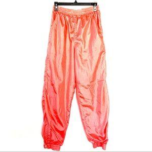 Vintage Ellesse Neon Pink/Orange Track Pants 8